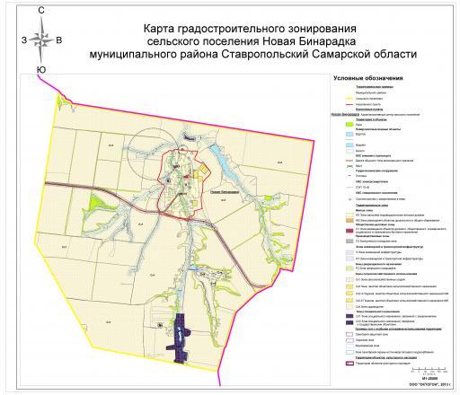 Карта градостроительного зонирования (М 1: 25000)